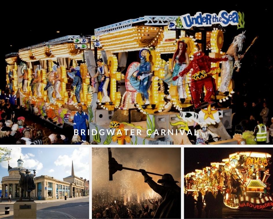 Bridgwater carnival in early Nov