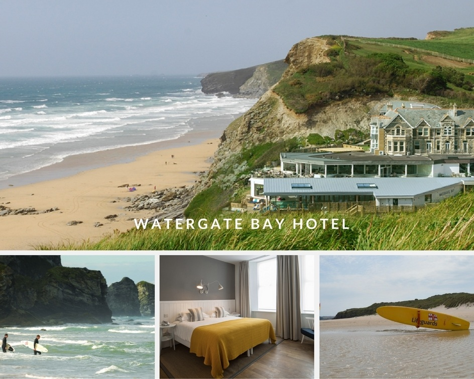 Watergate Bay Hotel in Cornwall