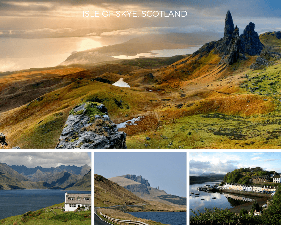 Isle of Skye - perfect October holiday