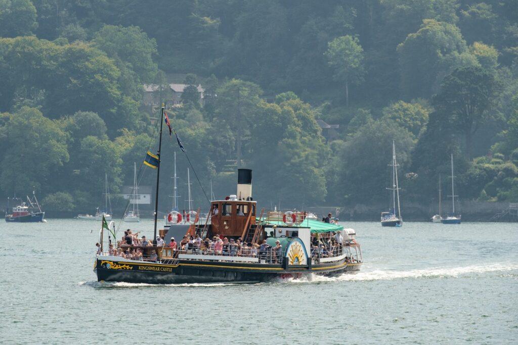 Kingswear Castle Paddle Steamer Dartmouth