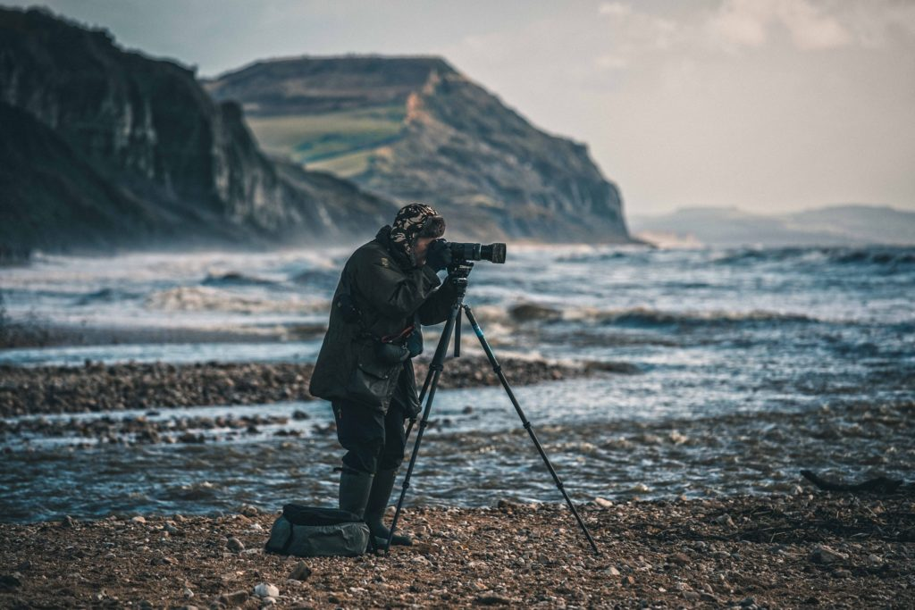 Things-to-do-in-lyme-regis: Simon Emmett photographing
