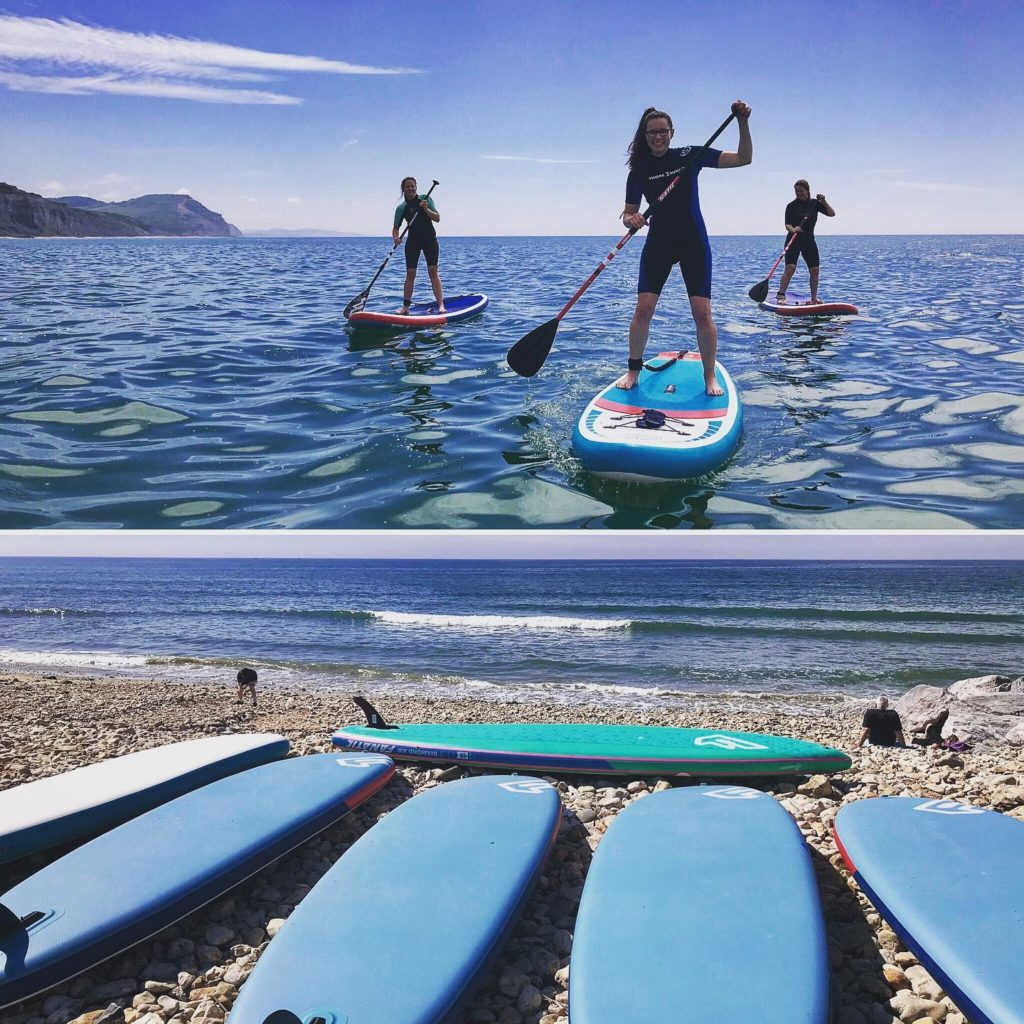 Things-to-do-in-lyme-regis SUP session