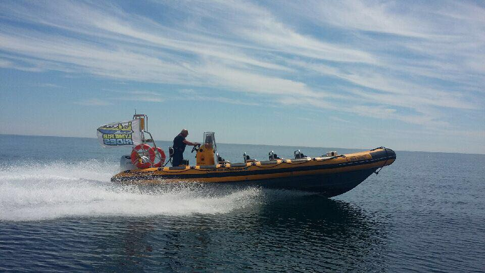 Things-to-do-in-lyme-regis RIB Ride along coast