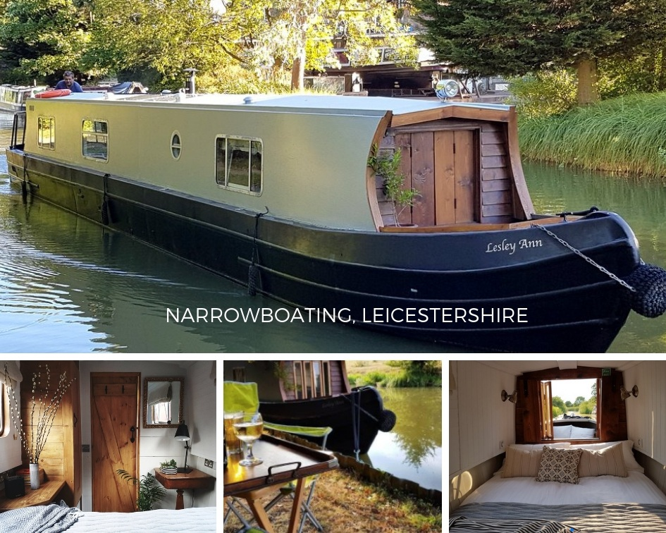 Narrowboat holiday pictures in october in
