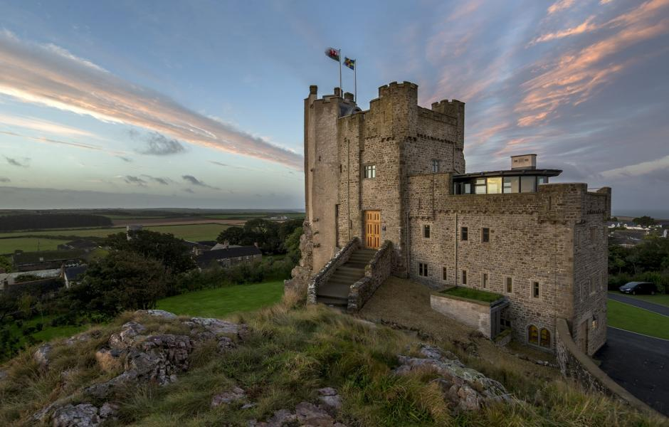 Roch Castle in Wales