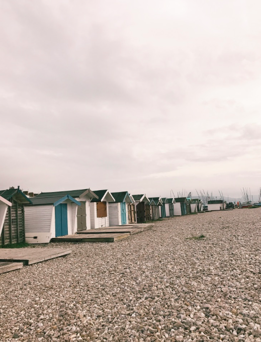 Things-to-do-in-lyme-regis: Monmouth beach and beach huts