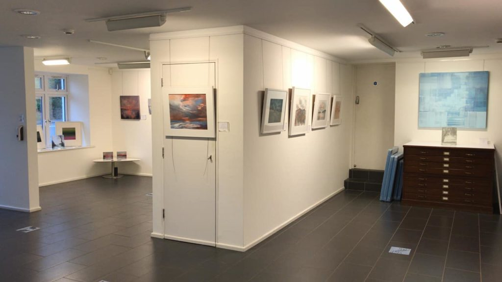 Things-to-do-in-lyme-regis art wave west gallery interior