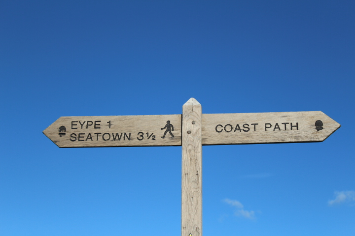 broadchurch filming locations: path to Eype