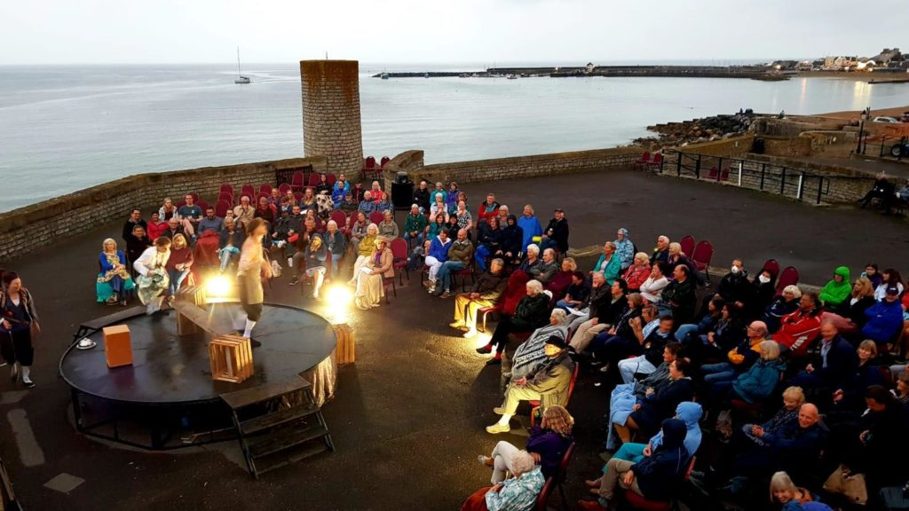 Things-to-do-in-lyme-regis Marine Theatre Outdoor Production