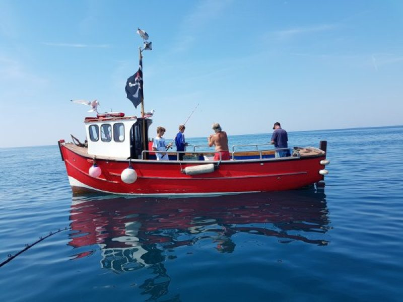 Things-to-do-in-lyme-regis: Harry May Mackerel Fishing trip Boat