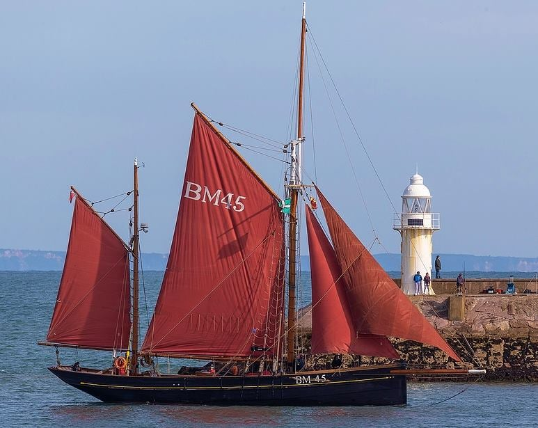 pilgrim BM45 sailing boat Dartmouth