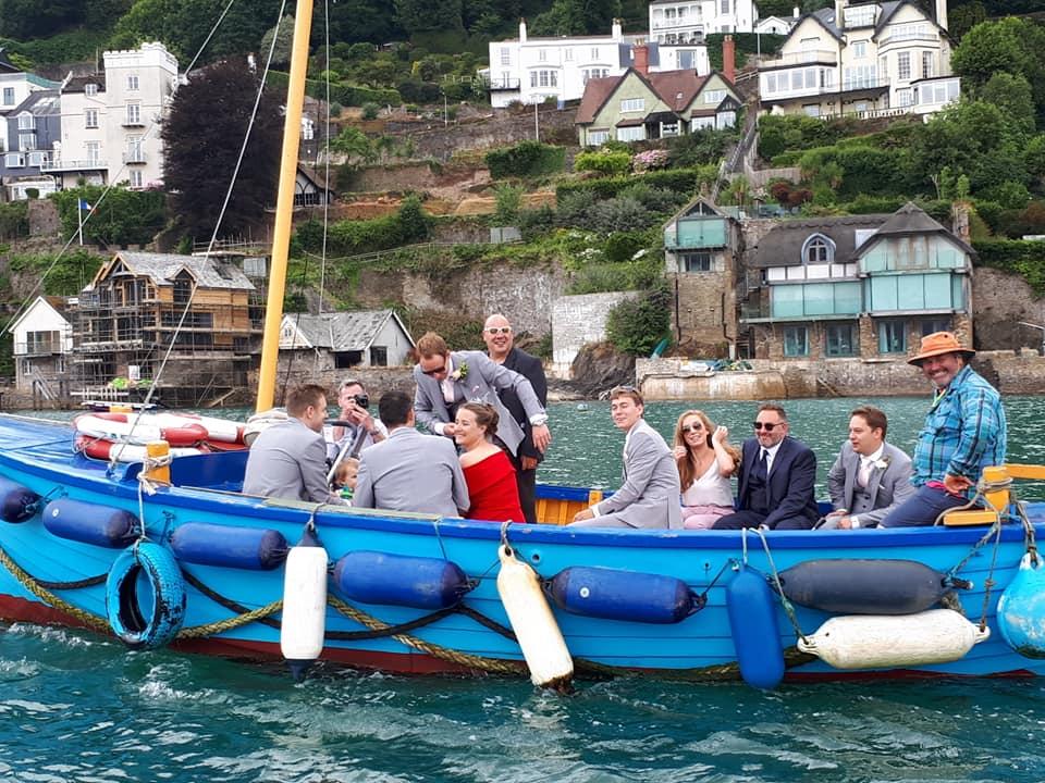 Dartmouth Castle Ferry trip