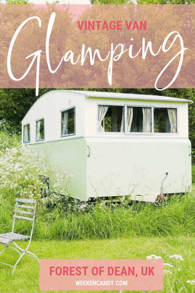 Mad Dogs glamping in the Forest of Dean - Image to Pin
