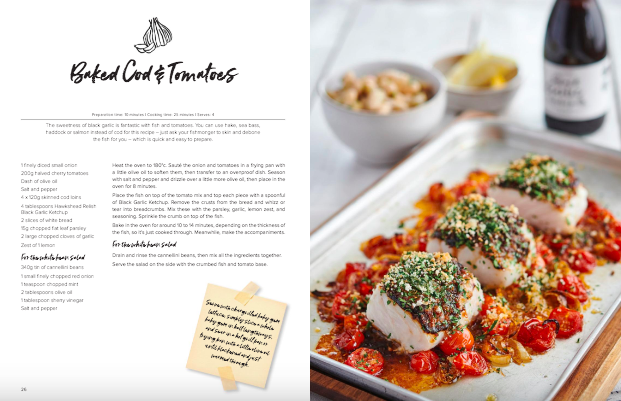 Sample Spread of Hawkshead Embellish with Relish Cooking Book