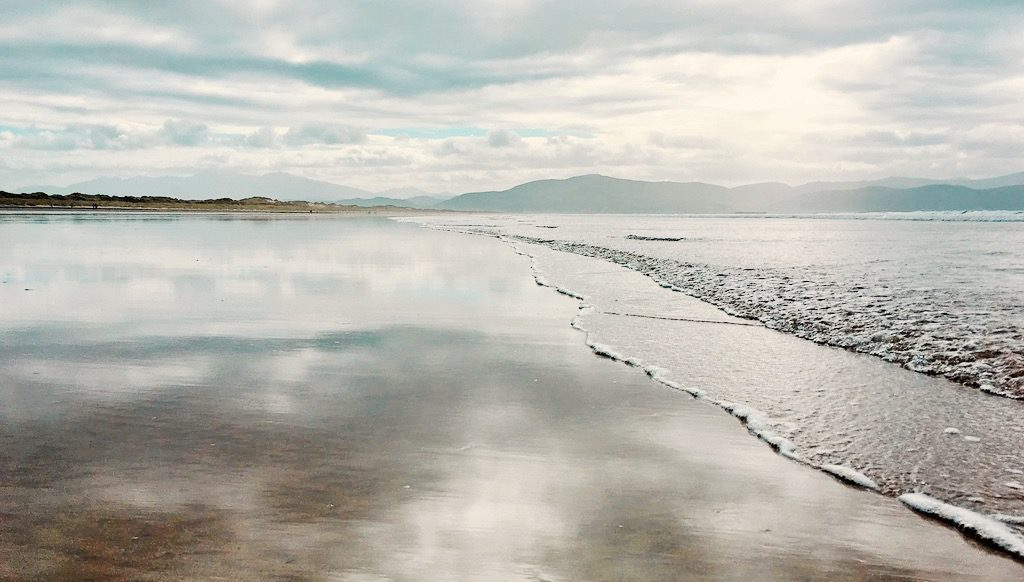 Inch beach on the Wild Atlantic Way
