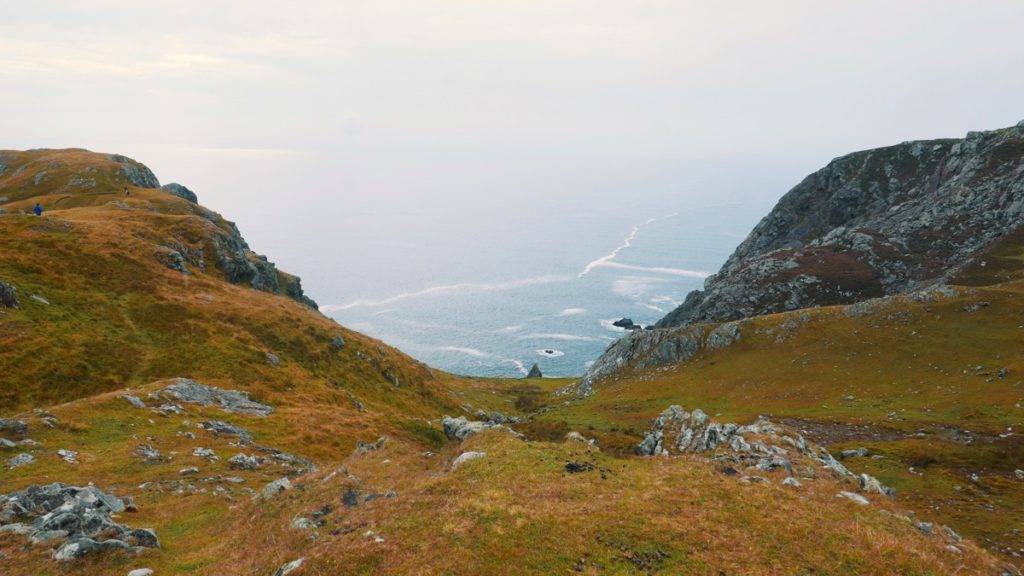 Slieve League (Sliabh Liag) on Wild Atlantic Way