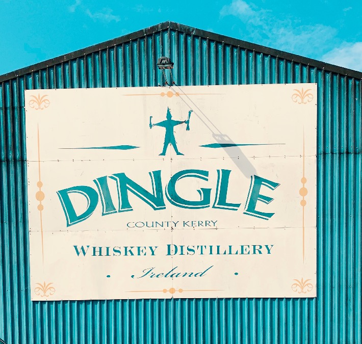 Dingle Distillery outside of Dingle