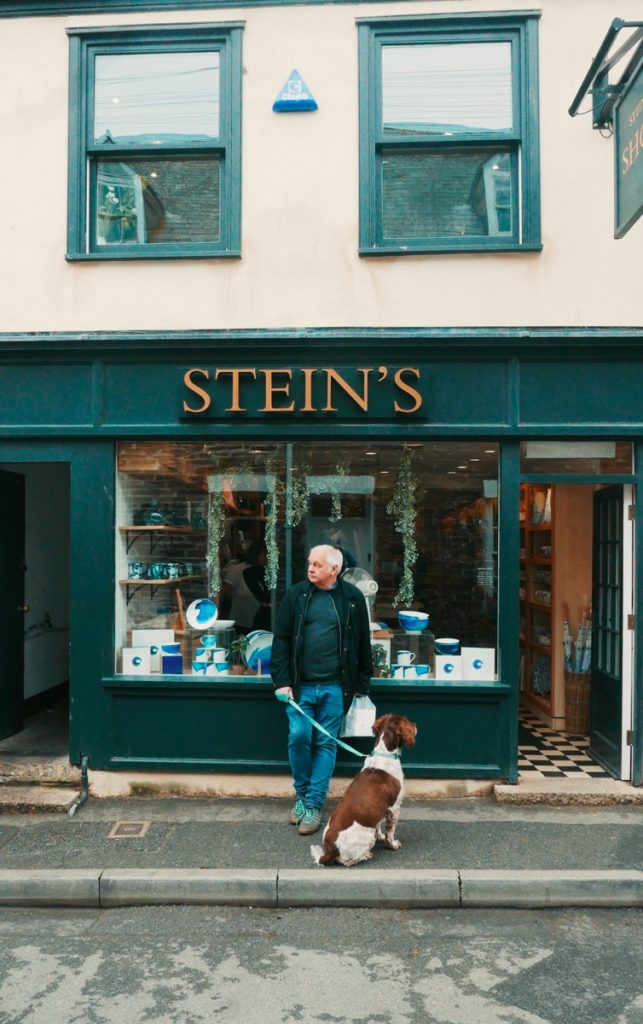 Outside Rick Steins Cafe Padstow