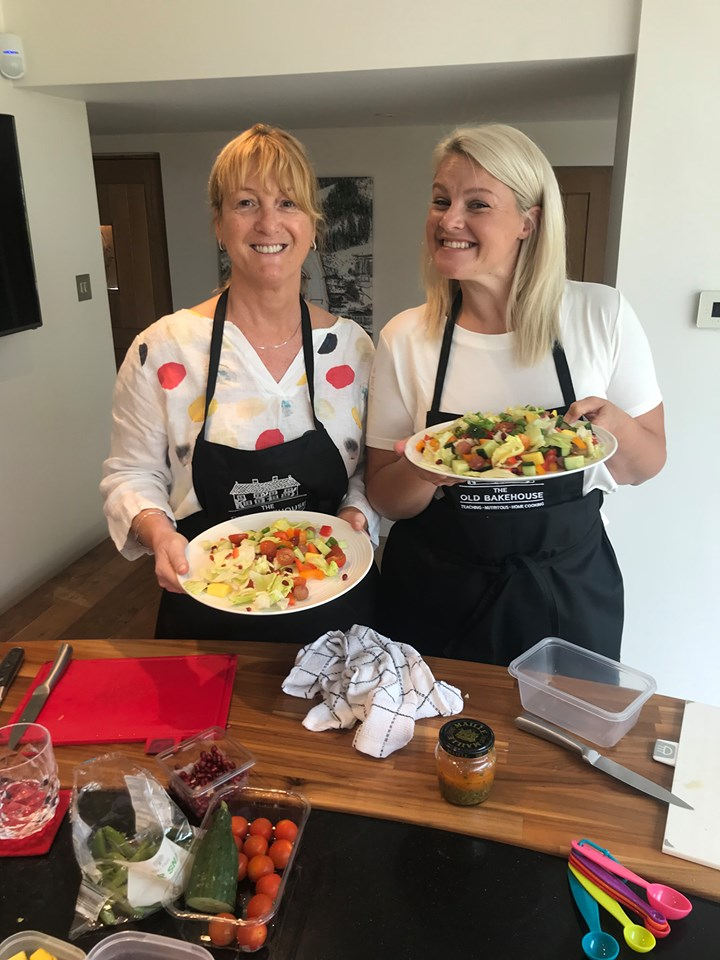The Old Bakehouse cooking lesson