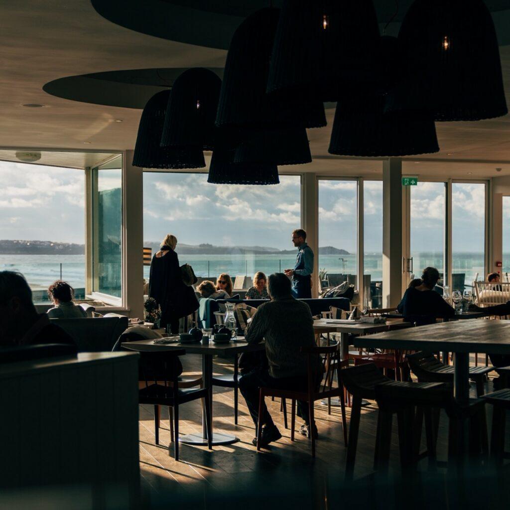 Watergate bay hotel restaurant