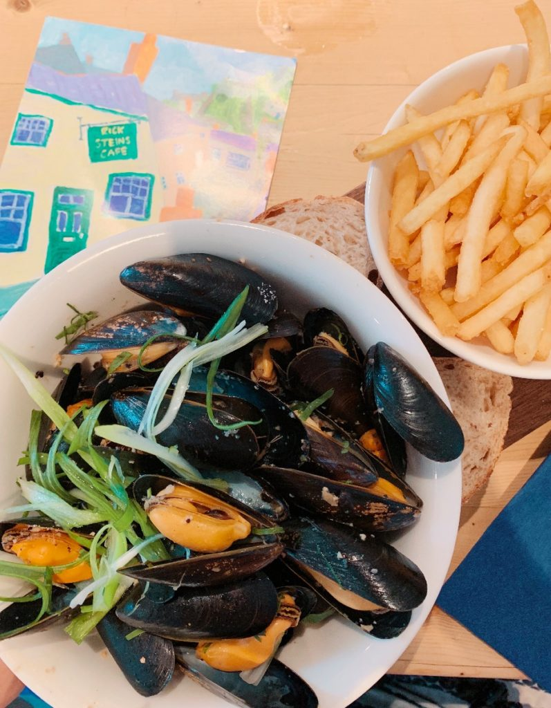 Moules Frites at Rick Steins Cafe Padstow