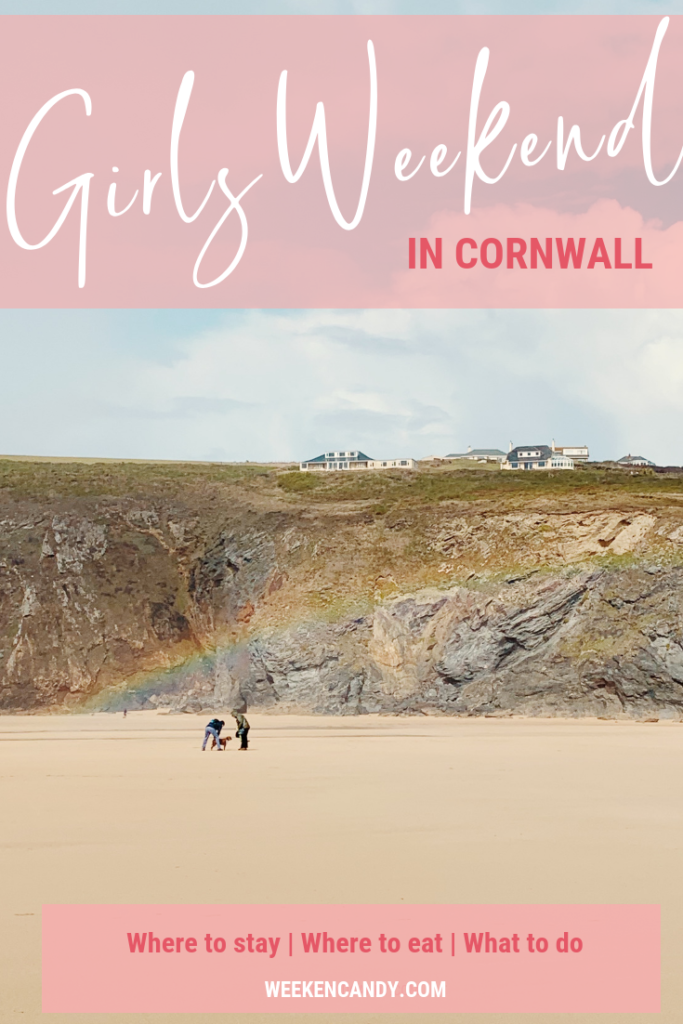 Pinnable image of beach in cornwall