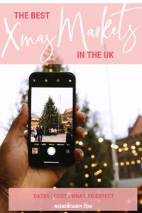 Pinnable image of Xmas Market in UK
