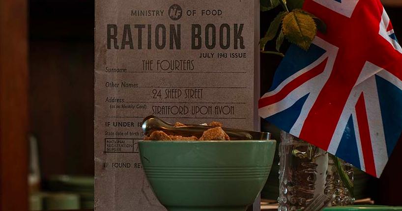 menu the Fourteas Tea Room Stratford