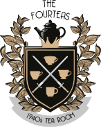 the Fourteas Tea Room Logo