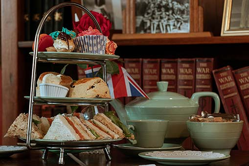 Afternoon tea at the the Fourteas Tea Room Stratford