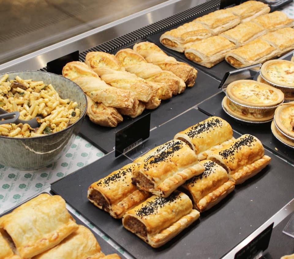 baked treats at loch leven's larder cafe