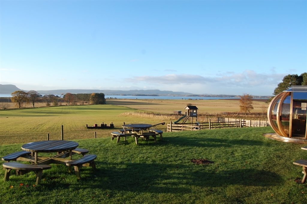 loch leven's larder cafe outside views