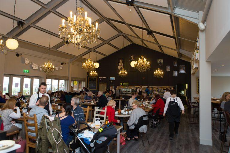 loch leven's larder cafe inside