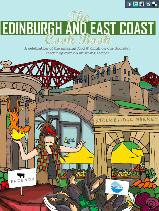 The Edinburgh and East Cook Book