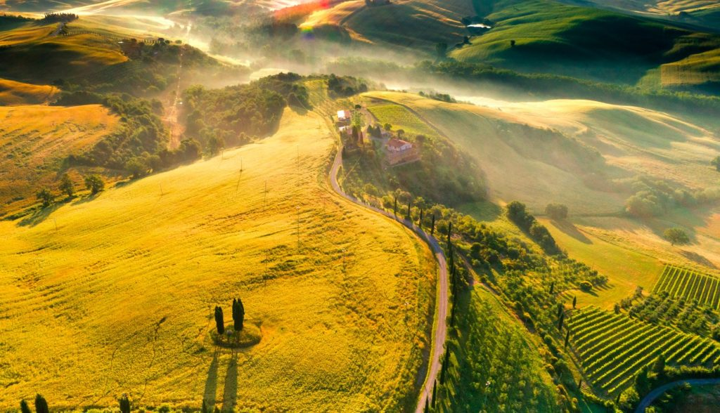 italy hills