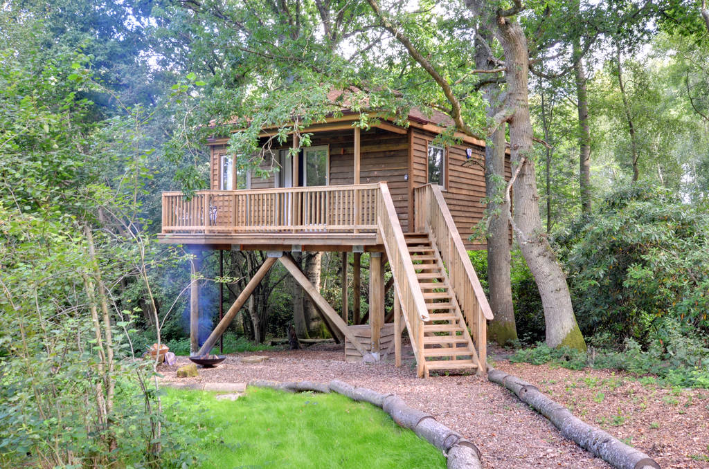 Treehouse in East Sussex Downash Wood