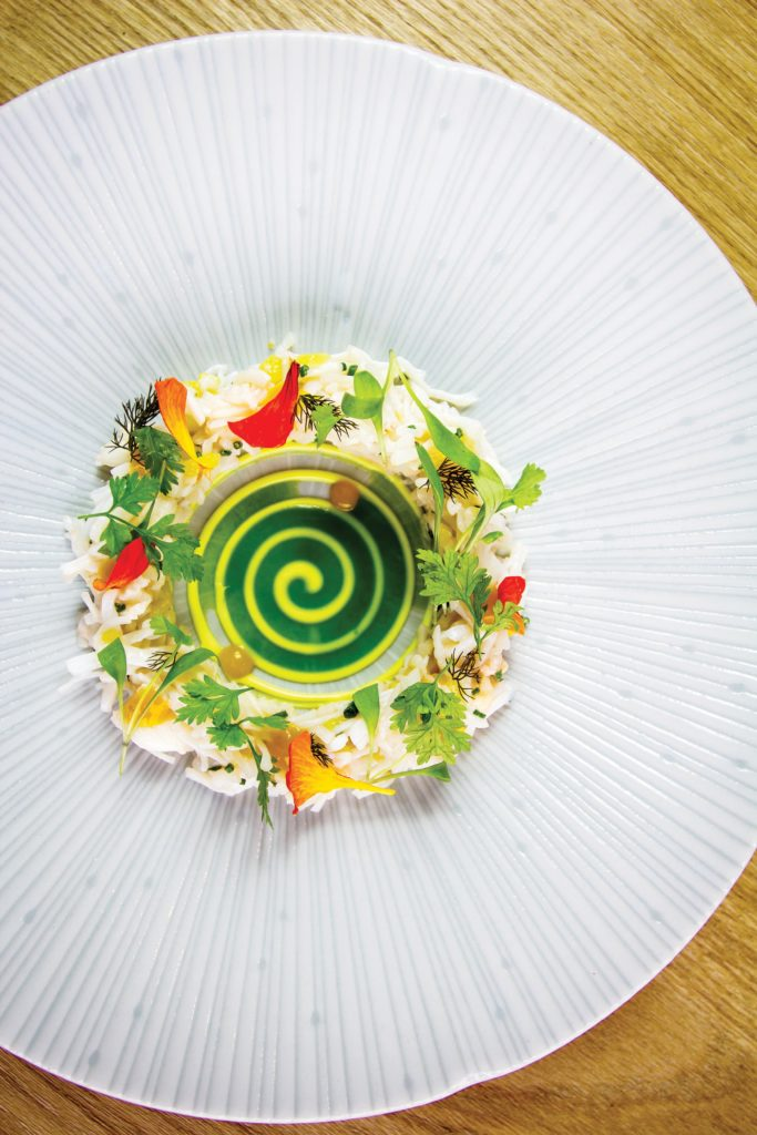 Boringdon Hall - Crab Salad Recipe