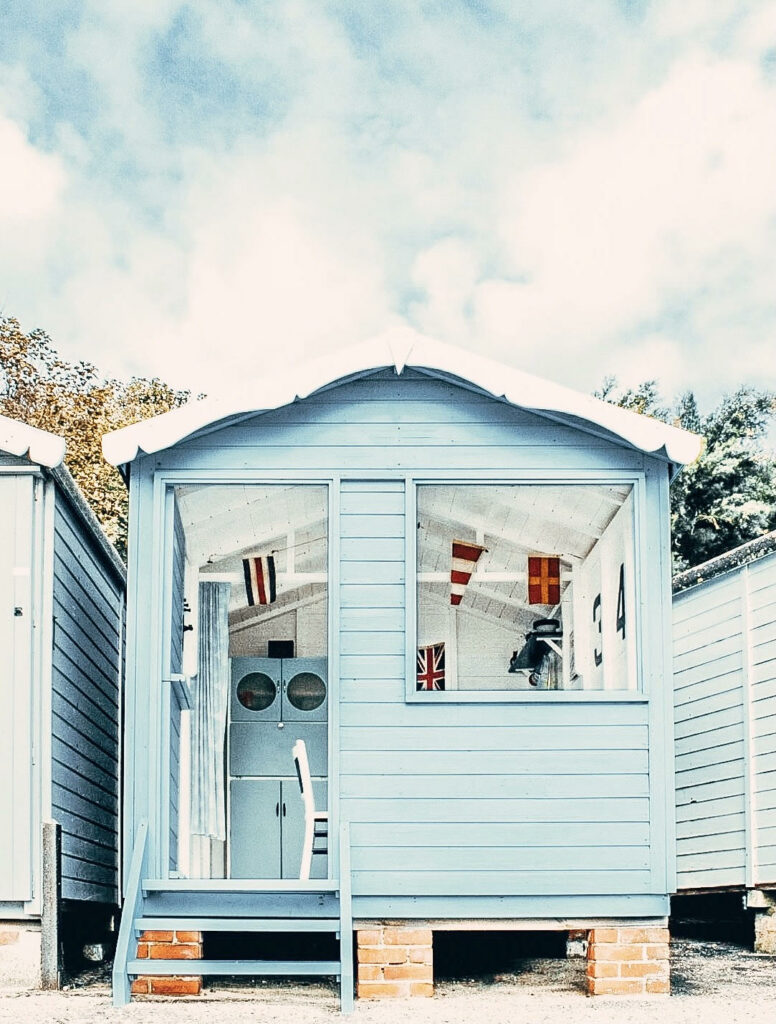 Cool Coastal Huts - Frinton 343 beach hut outside