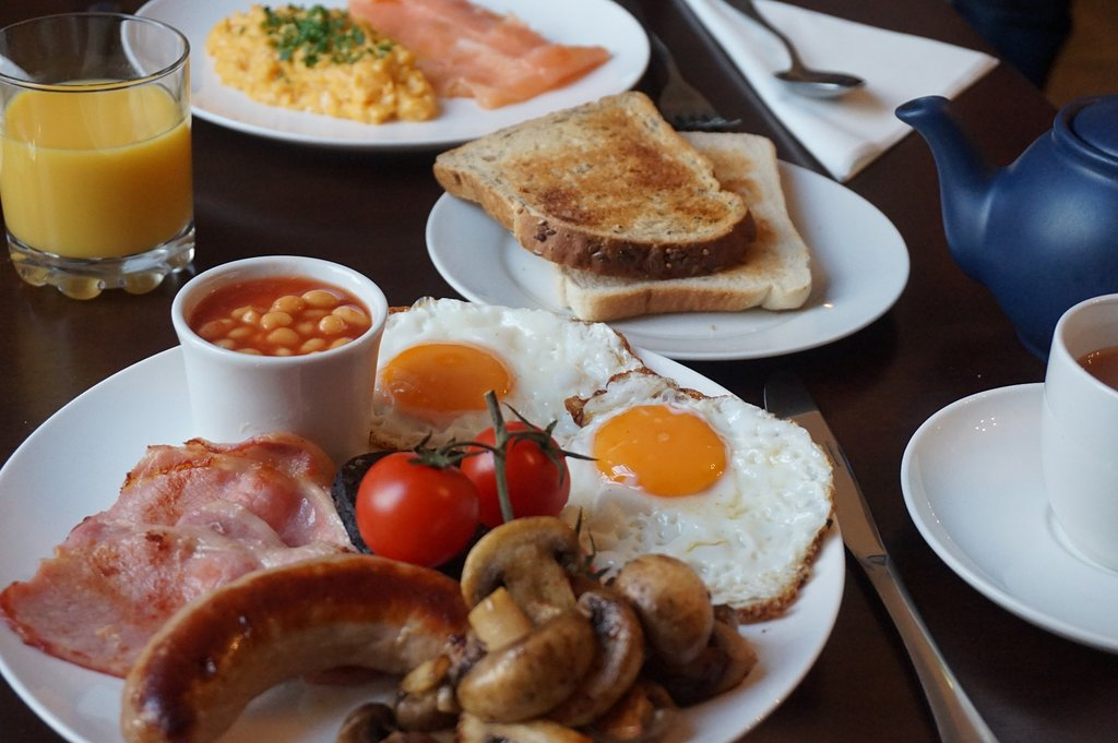 Weaver's guesthouse breakfast