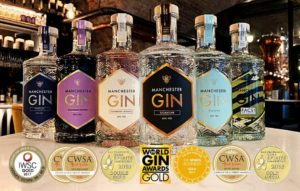 Manchester Gin selection