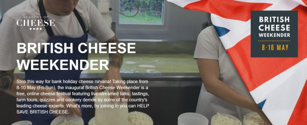 British Cheese Weekender Website
