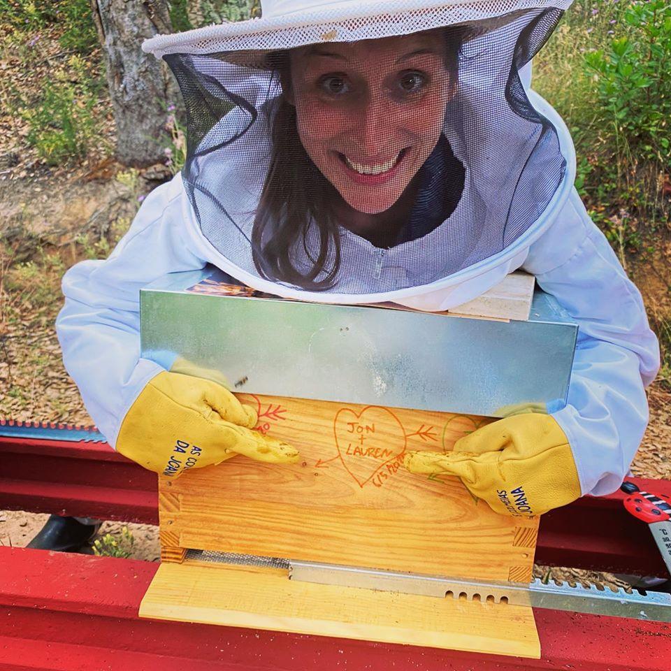 joana botto's beekeeping experience - bee hive