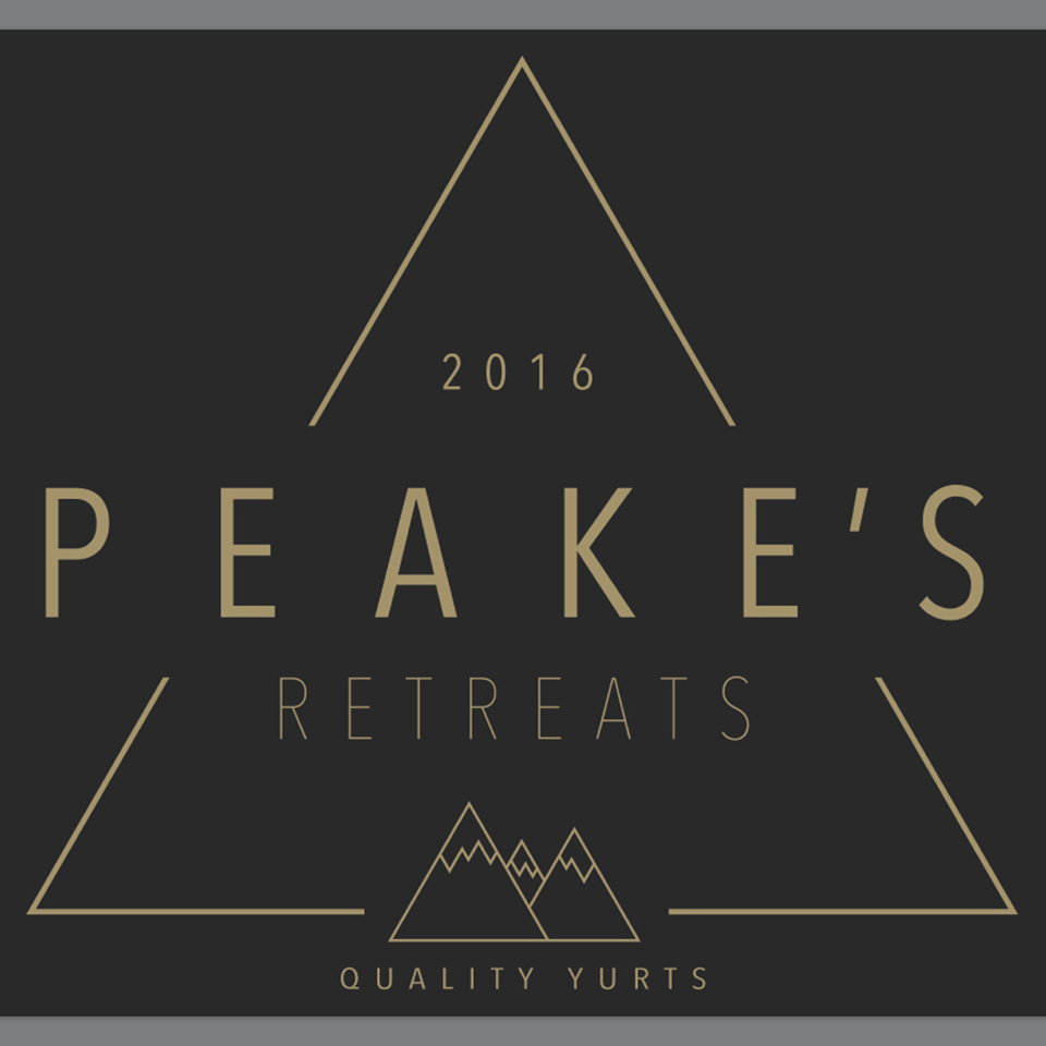 Peake's Retreat Yurts - logo