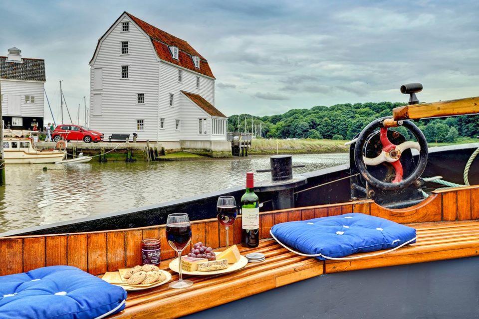 Woodfarm barges, suffolk, exterior