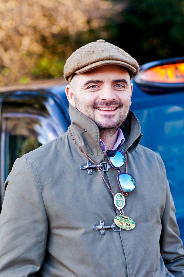 Black taxi tour London driver guide