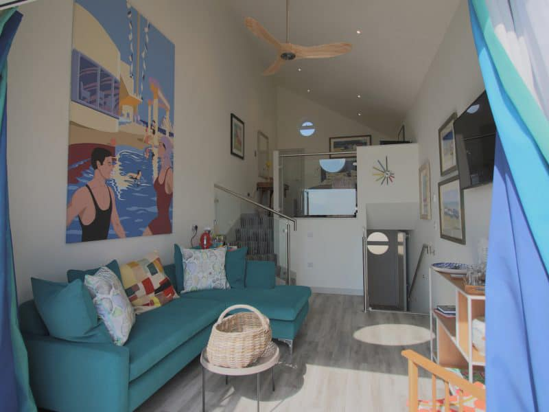 Beachcroft Beach Hut suites in Felpham West Sussex - Interior