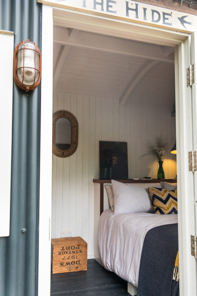 The Hide Shepherds Hut in Cuckfield, Sussex - interior