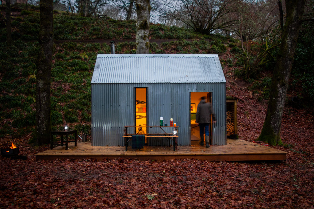 Scotland kettle washing room