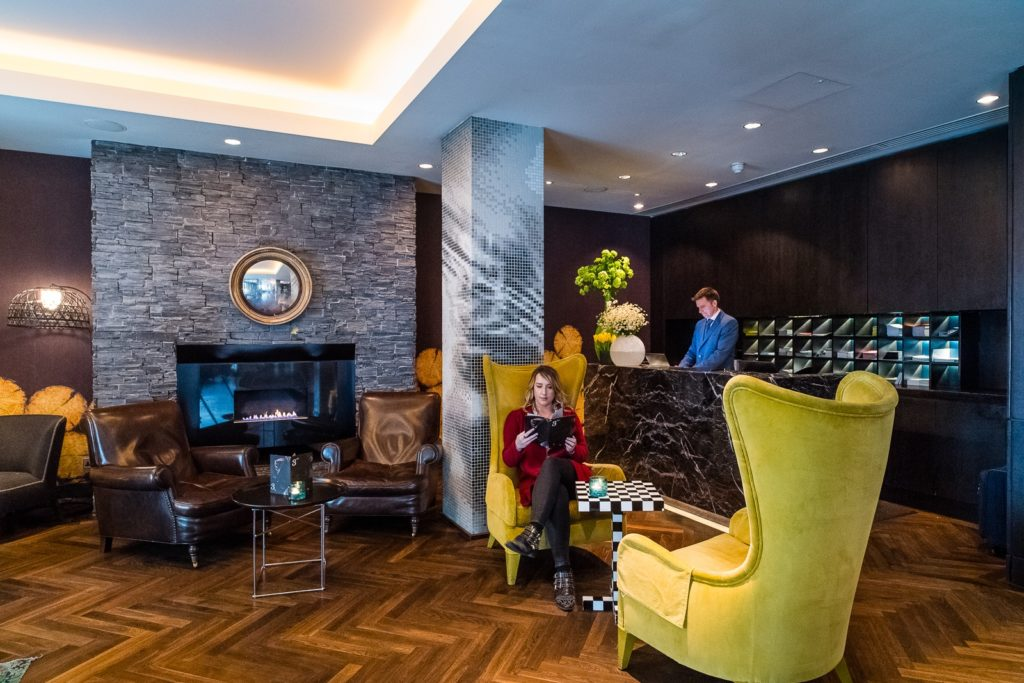 south place hotel london reception