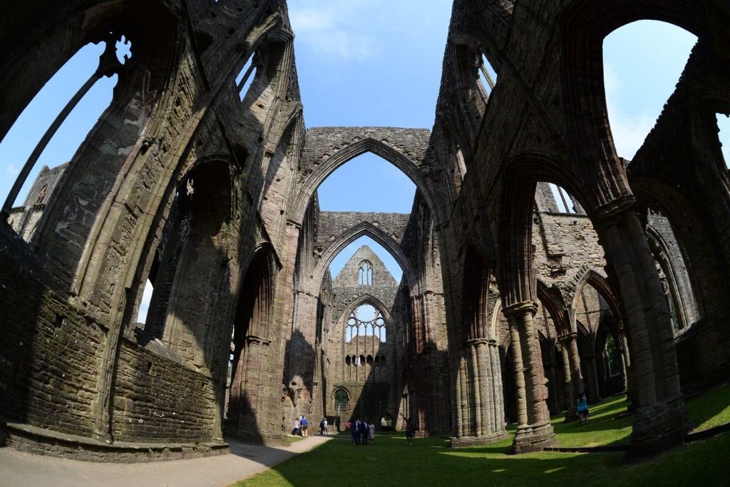 Tintern Abbey - inside view